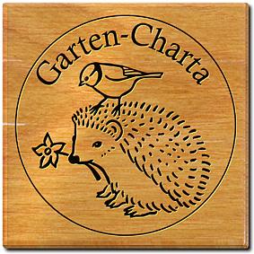 Emblem der Garten-Charta