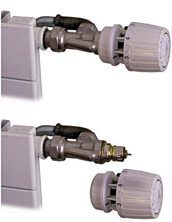 Die heizung wirklich abschalten energie - Demonter robinet thermostatique radiateur ...